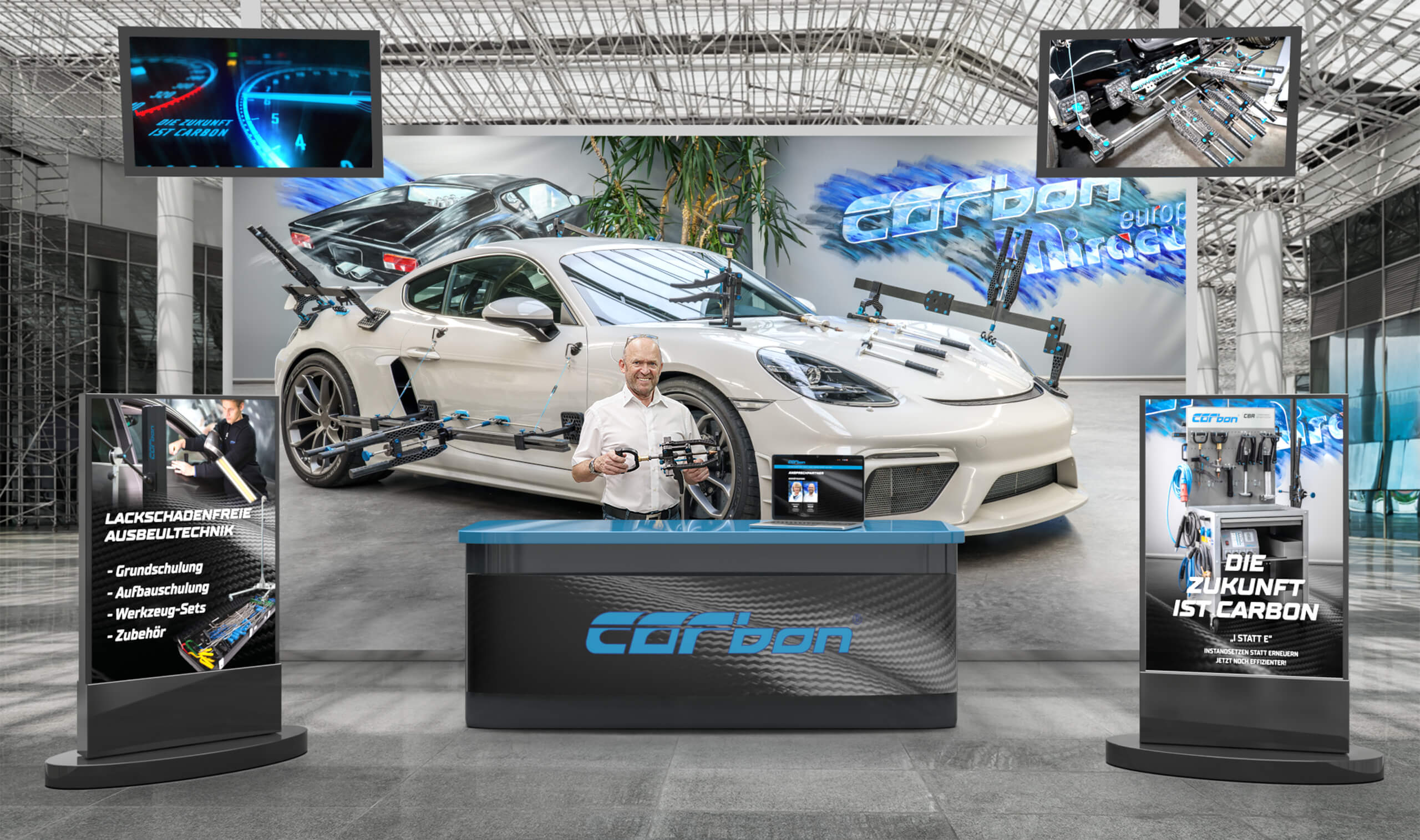 carbon smarv messestand