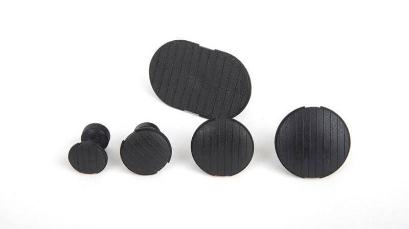 CKS-310 Zugbolzen schwarz/hart