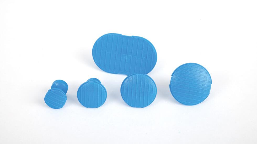 CKS-309 Zugbolzen blau/mittel