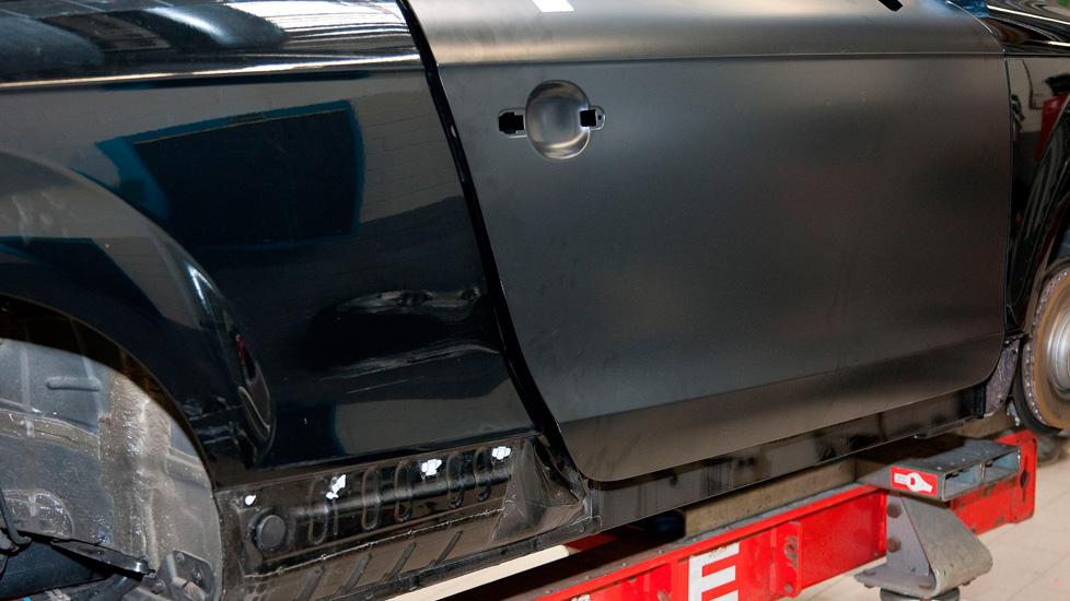Audi TT Seitenwand 1