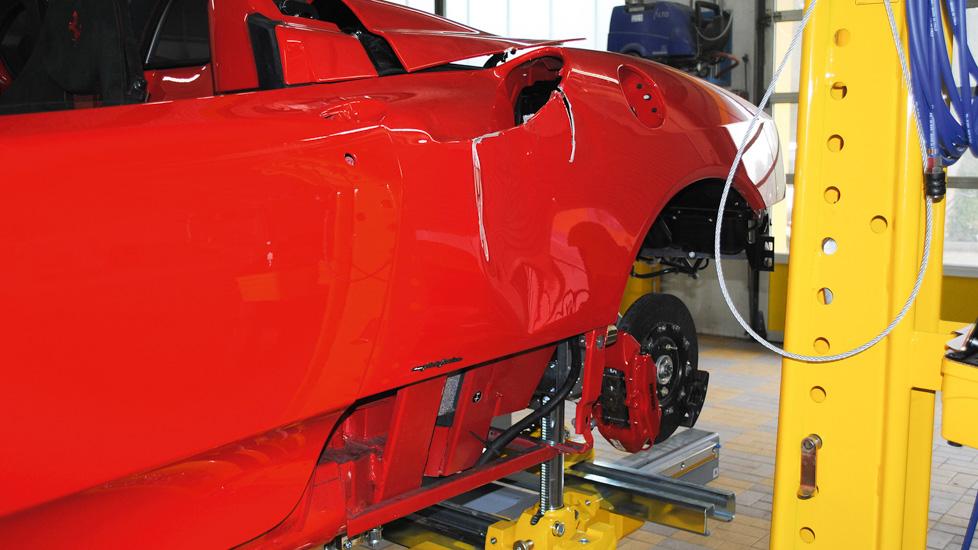 Ferrari Scuderia 16M Schaden 1