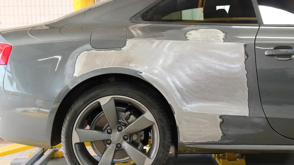 Audi A5 Seitenwand Schaden 6