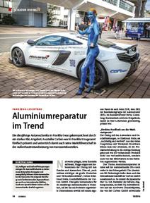Autohaus Alureparatur im Trend Titel