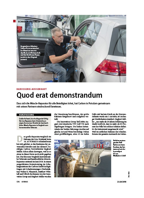 Autohaus Schadenbusiness Quod erat demonstrandum web
