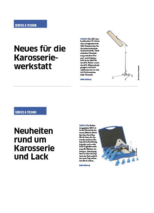 KFZ Betrieb Neues fuer die Karosserie Werkstatt