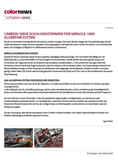 colornews schulungstermine