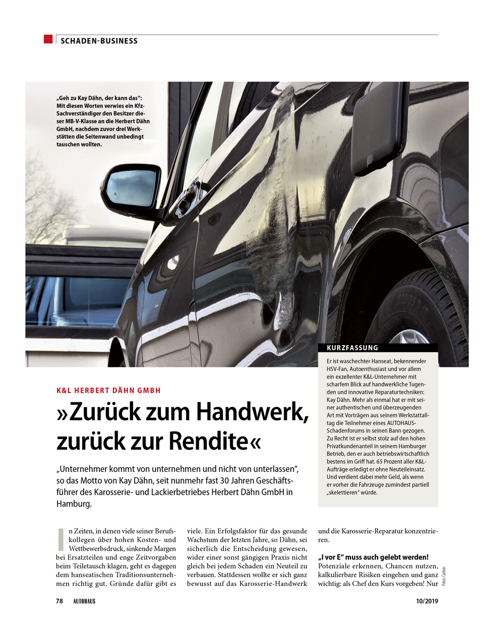 Carbon Zurueck zum Handwerk Schaden Business 026 2019