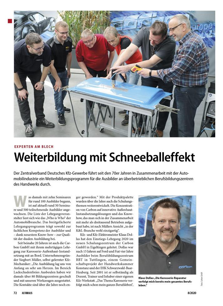 Carbon SB 20 Weiterbildung Schneeballeffekt 1 web 980 neu