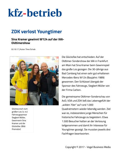kfz betrieb zdk verlost youngtimer web